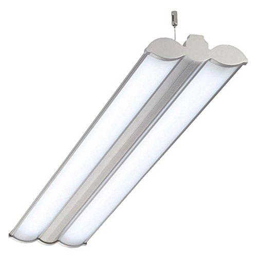 Büroleuchten LED, HEIDI, 36W mit 2x18W LED RÖHREN, 123cm, Bürolampe, Pendelleuchte, Hängeleuchte LED
