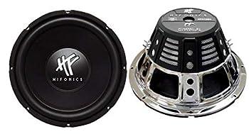 Hifonics HFX12D4 12-Inch 1600 Watt HF Series Dual 4 Ohm Car Subwoofers Pair of 2