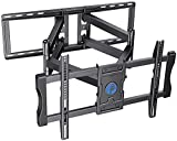 TV Wall Mount Bracket Full Motion Swivel Articulating for Most 37 - 90 inch OLED QLED LCD 4K Flat Curved TV with 29 Inch Long Extension Arm Fits 24 Inch Studs Max VESA 600x400mm to 132lbs by Pipishell