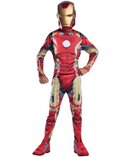 Rubie s IT610346-L - Iron Man Avengers 2 Classic Costume, Taglia L