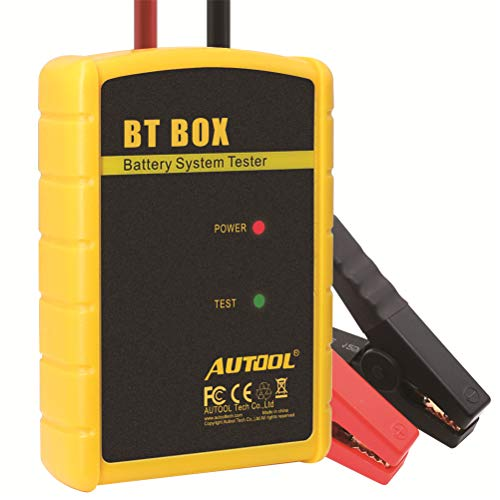 For Sale! AUTOOL BT Box Car Battery Tester, 12V Wireless Bluetooth Car Diagnostic Analyzer for iOS/A...