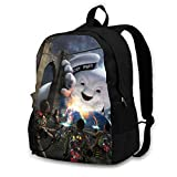 Xincent Ghostbusters Business Travel Slim Durable Laptops Backpack, Commuter Basic-Multipurpose-Backpacks