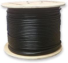 LinkedPro 1000' Weatherproof Waterproof UV Rated Direct Burial Gel Filled Network CAT5e Cable W/Solid Copper Conductors 300 Meter Spool