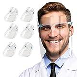 Pantalla Protección Facial Transparente para Adultos y Estudiantes, Visera Protectora...