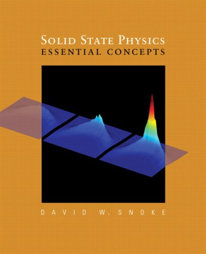 Solid State Physics: Essential Concepts