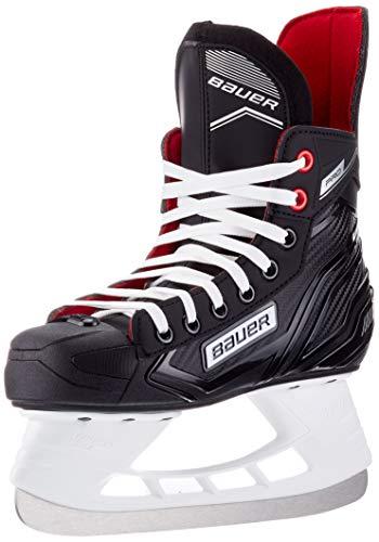 Bauer Unisex-Kinder Pro Skate Feldhockeyschuhe, Schwarz (Schwarz-Weiss-Rot-Si 900), 37.5 EU