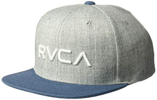 RVCA Boy's Rvca Twill Snapback Iii Hat Grey One Size