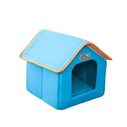 Cumberlanden Dog Cat House - Refugio Plegable Impermeable para Gatos Callejeros A Prueba De Viento para Mascotas En El Exterior/Interior