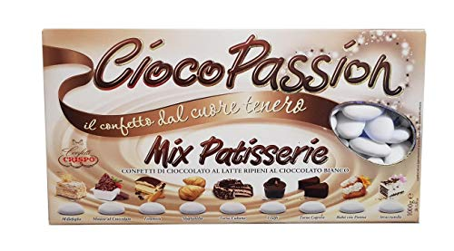 Crispo Confetti Cioco Passion Mix Patisserie – Kleur wit – 1 kg