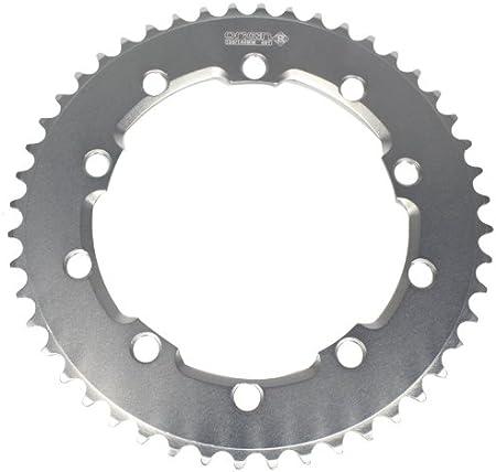 Details about  /42-58T 130BCD Single Speed Chainset MTB Folding Bike Crankset Chainring Bolt