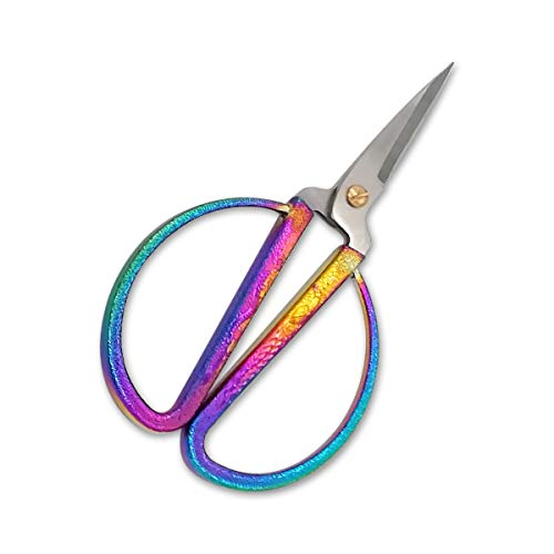 Chinese Traditional Scissors Sewing Scissors for Fabric Professional Chinese Scissors Hair Cutting Scissors Stainless Steel Scissors for Sewing Bonsai Scissor Ribbon Cutting Scissors Sewing Shears