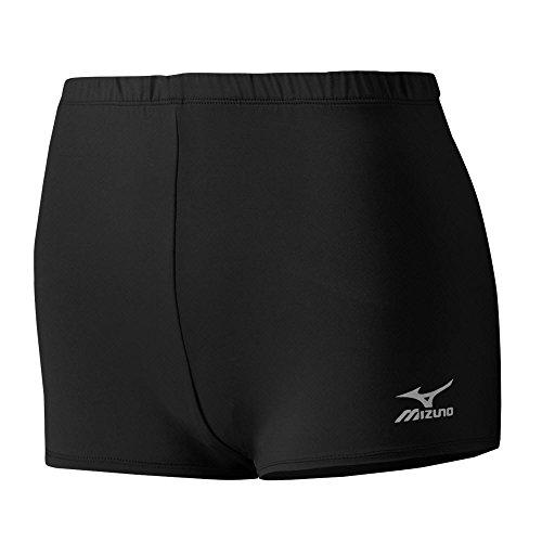 Mizuno Core Low Rider Shorts, Damen, schwarz