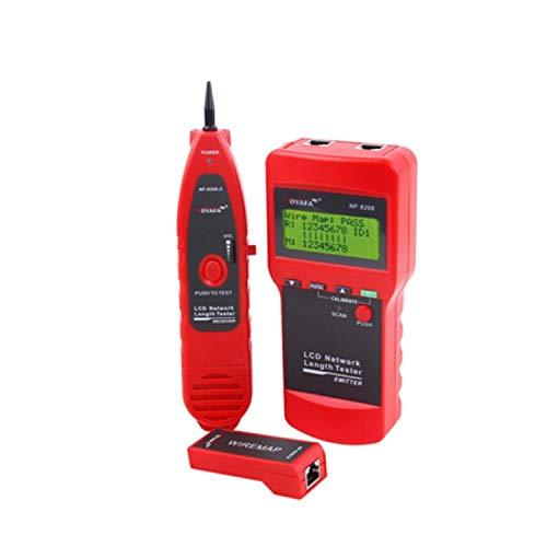 LAN-ZHENS NF-8208 Cable de Red RJ45 probador de Red Ethernet probador del perseguidor del Cable de Red Tester Fácil de operar