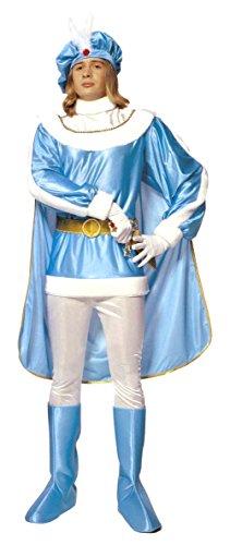 Widmann Kostüm Prinz hellblau TG.XL Herren Erwachsene 3176p