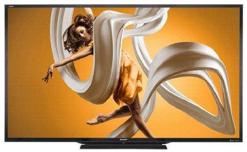 Sharp LC-90LE657U 90-Inch Aquos HD 1080p 120Hz 3D Smart LED TV (2014 Model)