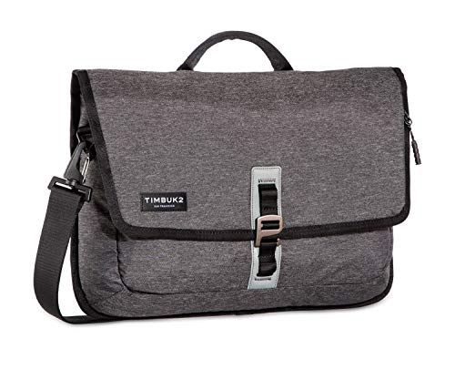 TIMBUK2 Transit Laptop Briefcase, Jet Black Static