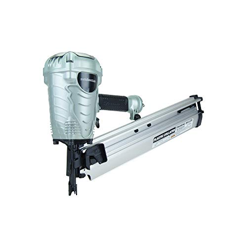 Metabo HPT Framing Nailer, The Pro Preferred Brand of Pneumatic Nailers, 21° Magazine, Accepts 2-Inch to 3-1/2-Inch Framing Nails (NR90AES1)