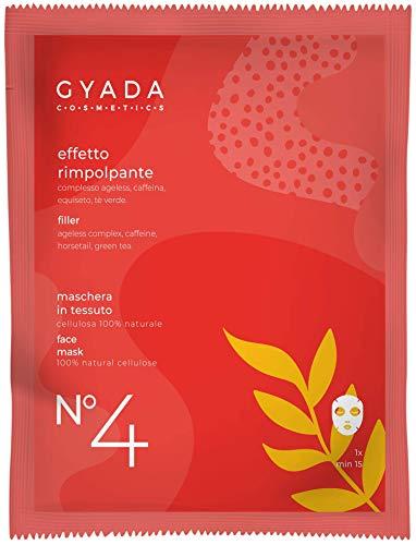 Gyada Cosmetics Gc025 Maschera in Tessuto N. 4 Effetto Rimpolpant 15 Ml