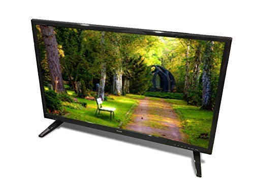 Free Signal TV Transit 28' 12 Volt DC Powered LED Flat Screen HDTV for RV Camper and Mobile Use