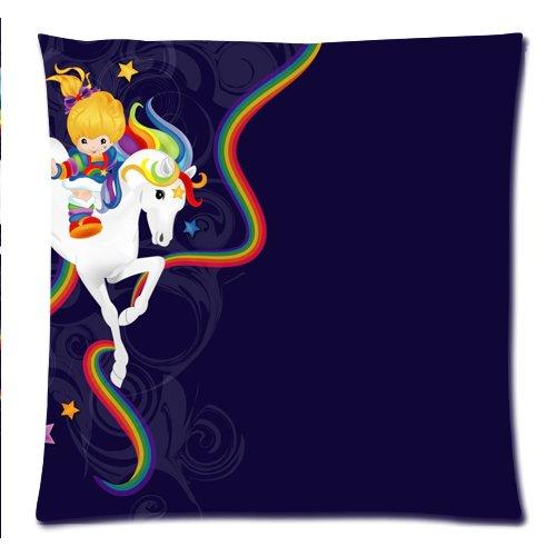 Rainbow Brite y fundas de almohada y funda de almohada starlightclothing personalizado de punto de cruz para cojín película pesadilla antes de Navidad 18 x 45,72 cm