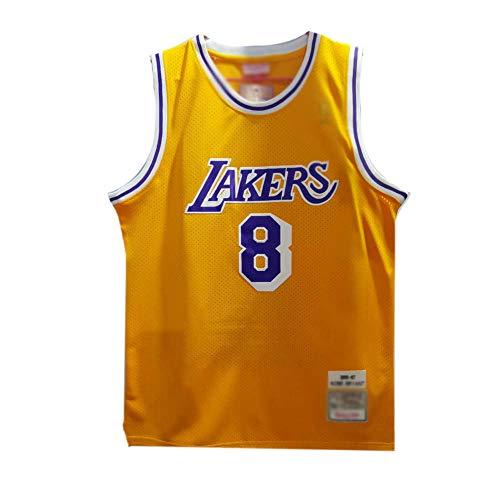 CHSC # 8 Kobe Bryant Trikot für Fans Lakers Onore Version Ärmellos Tank Top Uniform Basketball-T-Shirt mit Präzisionsstickerei für Jungen, Sportgeschenke Medium