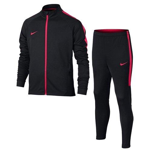 Nike Herren M Nk Dry Acdmy TRK K Trainingsanzug, Nero/Nero/Siren Red/Siren Red, M