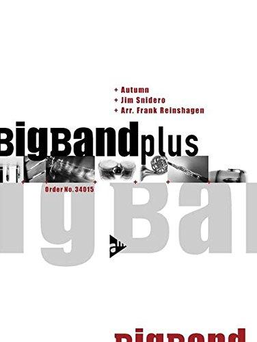 Autumn: Med. Swing. Big Band. Partitur, Stimmen und CD.