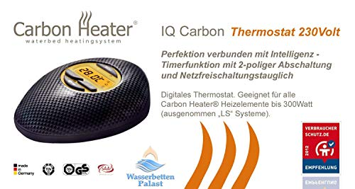 Carbon Heater IQ Carbon digitaal - thermostaat bedieningselement - vervangingsregeleenheid - geen verwarmingsmat
