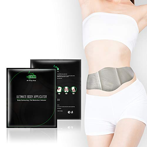 EHM Premium 45 Min Ultimate Body Wraps Applicator -Slimming Shape, Weight Loss - for Smooth Skin, Firm Toned Stomach - Reduces Cellulite Stretch Marks - Detox Lose inches