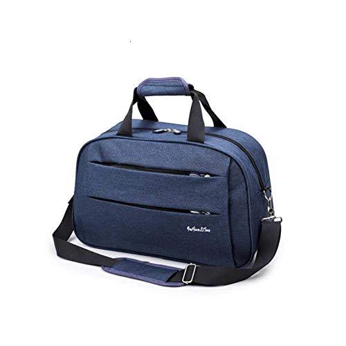 Gepäckreisetasche wasserdichte Leinwand Herren- Und Damenräder Große Taschen Herren Schultertasche Schwarz Grau Blau Handgepäck