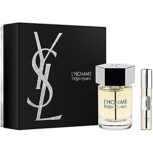 Yves Saint Laurent L'Homme Eau De Toilette 100Ml & Edt Travel Spray 10Ml Gift Set