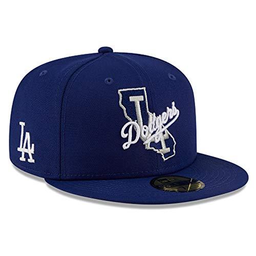 New Era MLB Los Angeles Dodgers Local 59Fifty - Gorro ajustado para hombre