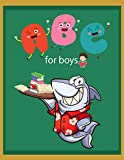 ABC For Boys (flash cards Book 11) (English Edition)