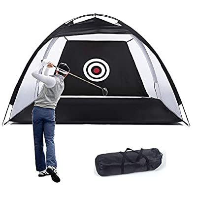 Golf Net Golf Hitting Nets for Adults Kids,Golf Training Net with Target Bundles for Backyard Swing Hitting Chipping, Golf Nets with Target Carry Bag Practice Nets Golf for Indoor Outdoor Sports.