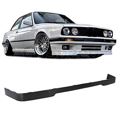 GT-Speed for 1984-1992 BMW E30 3-Series Lower Valance is Style Front PU Bumper Lip