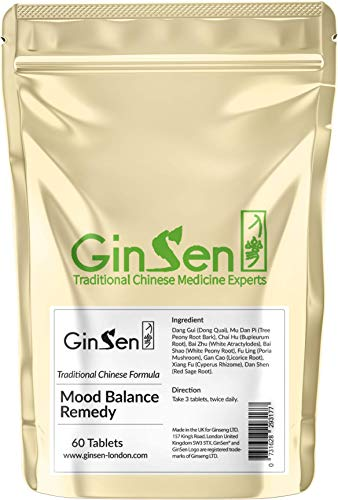 GinSen Mood Balance Remedy Helps with Mood Swings, Stress, Anxiety,...
