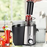 Juicer, Juice Extractor, Electric Juicer Machines 304 Stainless Steel, Juicers Best Sellers Easy To Clean, for Machines Vegetable and Fruit (Ideal Gifts)