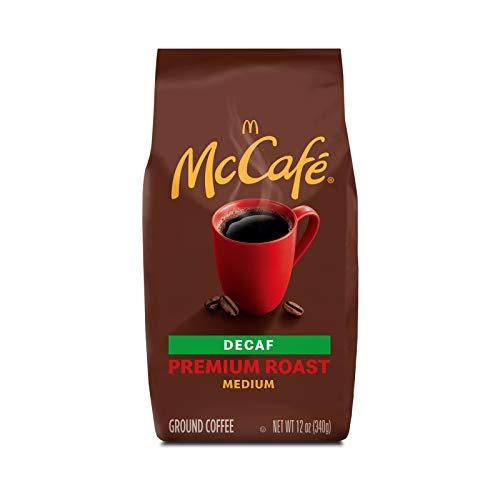 McCaf Premium Roast Decaf, Medium Roast Ground Coffee, 12 oz Bag