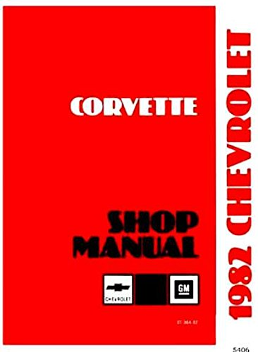 corvette factory service manual - 8