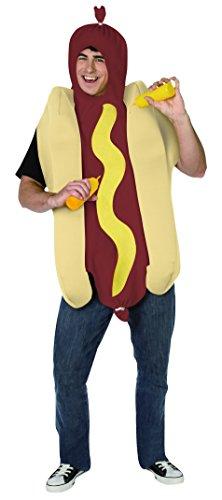 DEGUISE TOI - Déguisement Hot Dog Adulte - Taille Unique