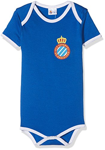 RCD Espanyol Bodesp Body, Infantil, Multicolor (Azul/Blanco), 00