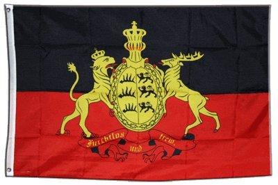 XXL Flagge Fahne Deutschland Württemberg 150 x 250 cm