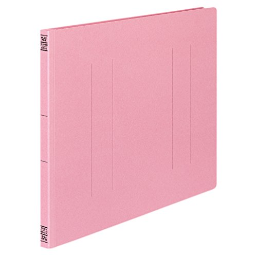 コクヨ フラットファイル 紙表紙 樹脂製とじ具 2穴 A3横 150枚収容 ピンク フ-V48P