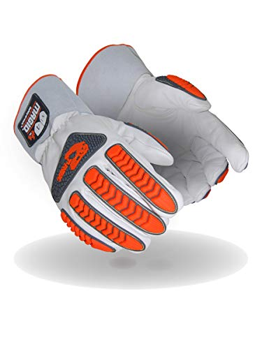 MAGID TRX848XL Inferno Series | Flame/Heat Resistant Impact Welder's Gloves, Size 10/XL, (1 Pair). Buy it now for 27.00