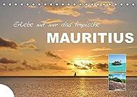 Erlebe mit mir das tropische Mauritius (Tischkalender 2022 DIN A5 quer): Afrikas Paradies im indischen Ozean (Monatskalender, 14 Seiten )