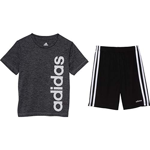 Adidas - Juego de camiseta y pantalones cortos de manga corta para niños - Multi - 6