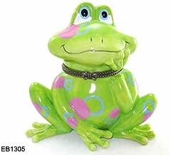 Big Frog Porcelain Hinged Trinket Box XXL Sze 4
