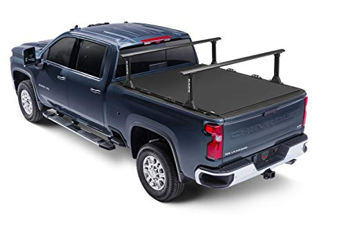 Truck Hero Elevate TS Rails | 1118358 | Fits Extra-Short-Beds / 5'5'-6' Bed (63' Rail Length)