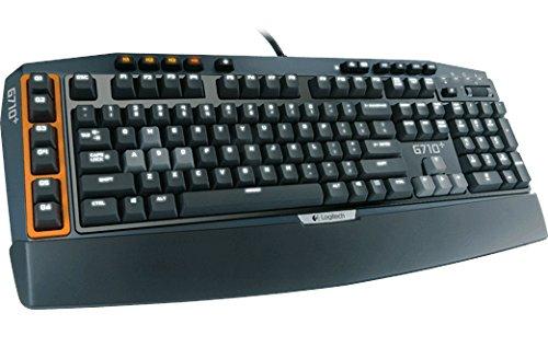 Logitech G710+ USB QWERTY Schwarz - Tastaturen (Standard, Verkabelt, USB, QWERTY, Schwarz)