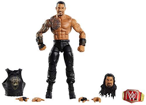 WWE GKY23 - Elite Collection Action Figur (15 cm) Roman Reigns, Actionfigur ab 8 Jahren